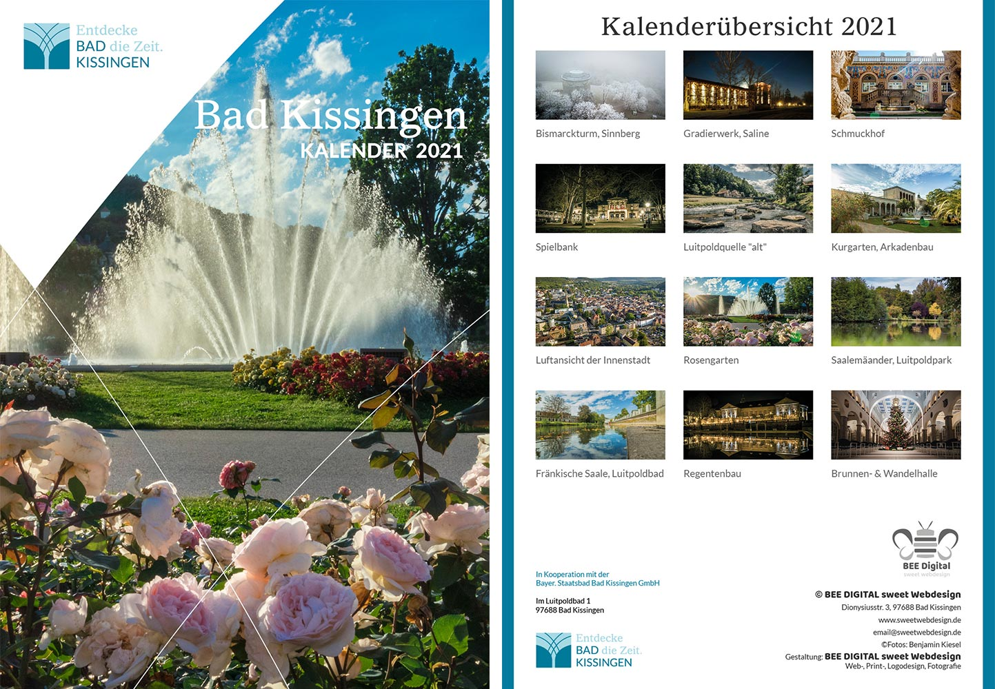 Der neue Bad Kissingen Kalender 2021